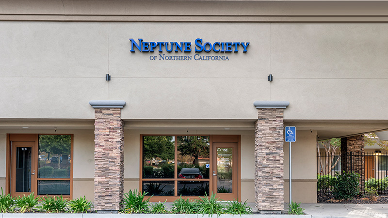 Neptune Society of Fairfield, front of building