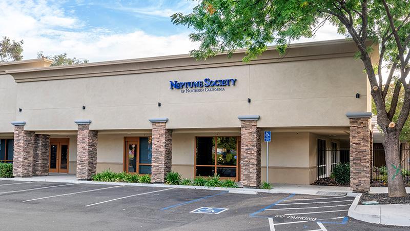 Neptune Society of Fairfield, building entrance